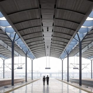 Tianjin West Railway Station. L'architettura Sostenibile In Cina