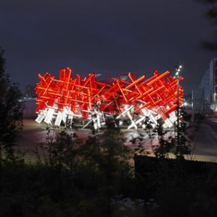 The Coca-Cola Beatbox: Interactive Olympic Park Pavilion