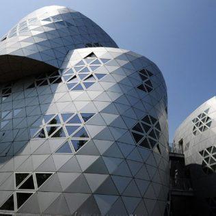 Il Cemento Proiettato Curva L'architettura