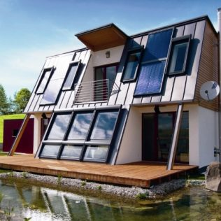 Energy X. Eco-friendly Prefabricated Houses.