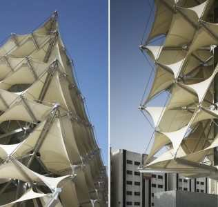 King Fahad National Library: Fabric Membranes In Facade Cladding