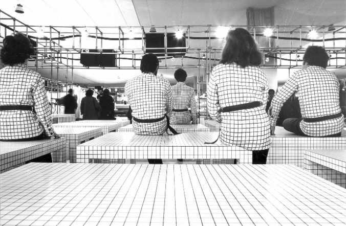 Superstudio Serie Quaderna 1970 Zanotta S.p.A Low