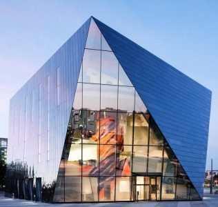 L'acciaio Inossidabile Al Museum Of Contemporary Art