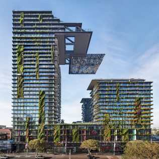 One Central Park, The Highest Vertical Garden In The World