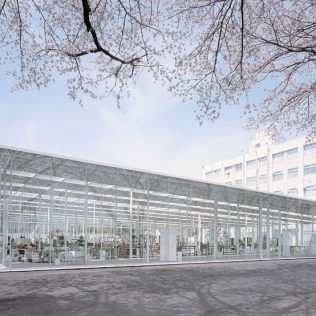 Kanagawa Institute, A Slender Steel Tree Forest