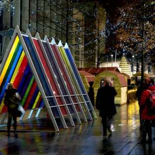 Bright Space, A Public Art Installation