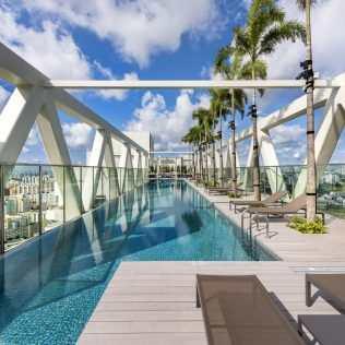 Sky Habitat Singapore, Il Grattacielo 3d