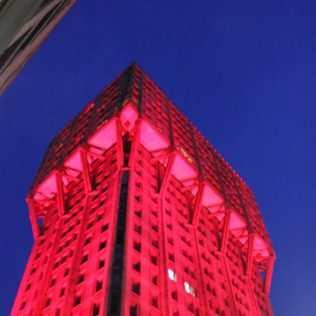 Torre Velasca, Illuminata Per Il FuoriSalone