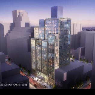 A Manhattan Metallo E Vetro Per Una Nuova Torre Residenziale Di Lusso