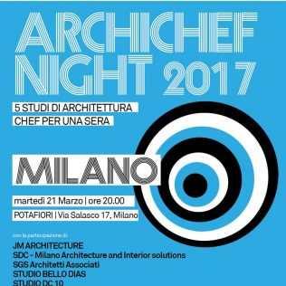 Archichef, Ripartono Da Milano, I Cuochi-architetti