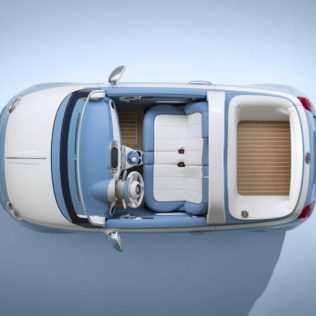 La Spiaggina, Fiat E Garage Italia Insieme Per Una Versione Speciale