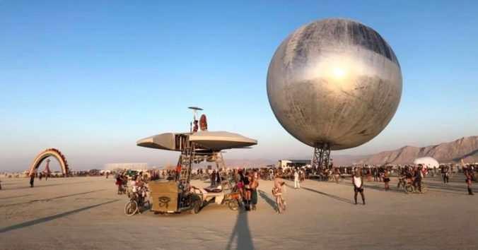 Burning Man 2018 Art Thumbnail