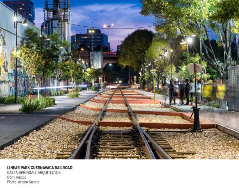 Linear Park Cuernavaca Railroad Ph Arturo Arrieta