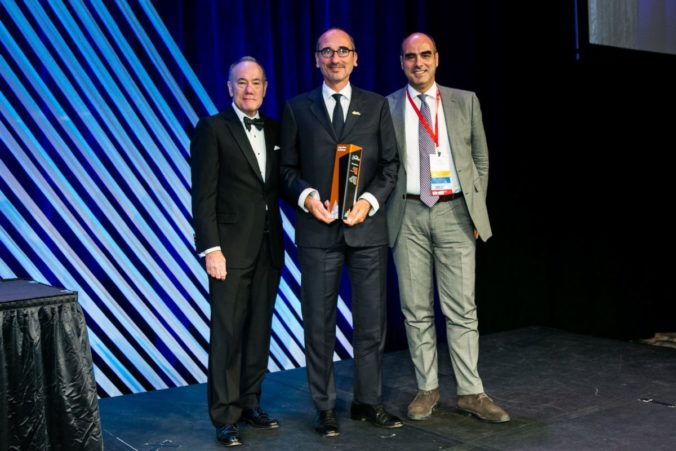 Premiazione Torre Generali ACI Chapter Excellence In Concrete Construction Award 2019